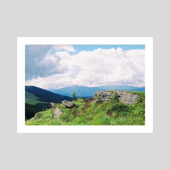 Carpatian Mountains 2 by Anton Popov