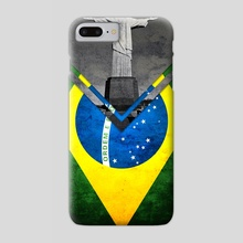 Flag - Brazil - Phone Case by Alexandre Ibáñez