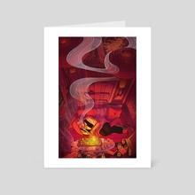 Opium Fiend - Art Card by Yao Xiao