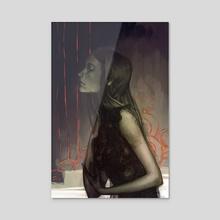 Cinder - Acrylic by Camila Vielmond