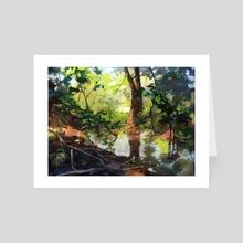 Arboretum 02 - Art Card by POM