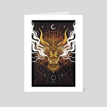 Celestial Dragon - Art Card by Cerid Ellis