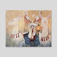 The Kirin - Acrylic by Sarah Graybill