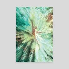 the stream of consciousness /2 - Canvas by Stefania Piredda