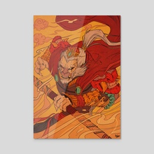 LIMITED EDITION - Monkey King  - Acrylic by Ryden Oliver