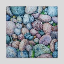 Life of stones - Canvas by Olga Katkova