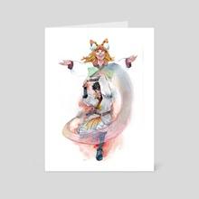 Hazel & Josef - Art Card by Agha  Abiyasa
