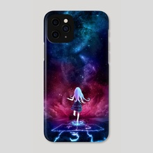 Over the Galaxy - Phone Case by Aurora Lion