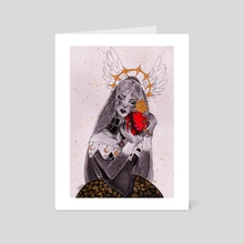 Holy heart - Art Card by Teresa Vannini