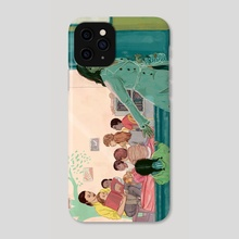 Finding Quality Childcare - Phone Case by Michelle Kondrich