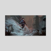 Lady Mistborn - Canvas by Marcela Medeiros