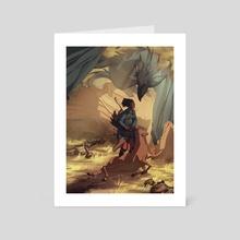 Dragon Keeper - Art Card by Marta Milczarek