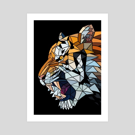 Poligons Tiger by Alberto Perez