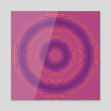 BULLSEYE - Acrylic by Preston Collins