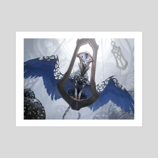 MtG Ethersworn Sphinx by Irina Nordsol