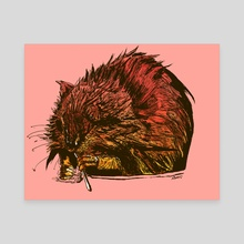 Muskrat - Canvas by Ryan Coughlin