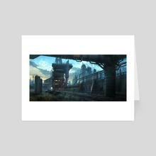 Industrial Environment - Art Card by Daniel Ljunggren