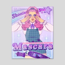 Shooting Star Mascara Co. - Acrylic by Keely Parks