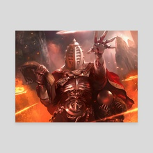 Apostle's Blessing - Canvas by Brad Rigney