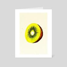 Kiwi - Art Card by Nazar Hrabovyi