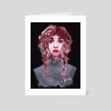 Head 10 - Art Card by Rorie Ciriaco