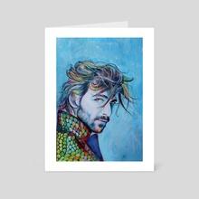 Michiel Huisman - Art Card by Anna Shapovalova
