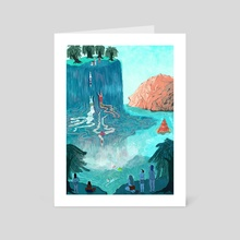 Phenomena - Art Card by Lily Padula