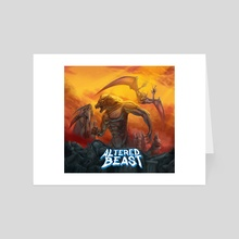 Remaster Altered Beast - Art Card by Leonardo Cordeiro