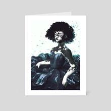 Flower (2) - Art Card by Gin