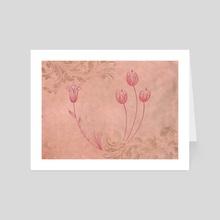 Flower's  - Art Card by Marianna Devon Combei