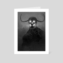 The Fire in Me - Art Card by Austen Mengler