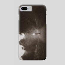 foggy rides - Phone Case by Brent Olson