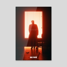 #MaxPayne20 - Acrylic by Emad Ameri