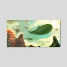 The Ocean Sky - Acrylic by Desmond Wong