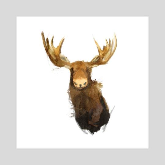 Moose by Greg Araszewski