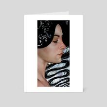 Sine - Art Card by Carly Janine Mazur