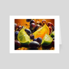 Vitamin C II - Art Card by Martha Wirkijowski
