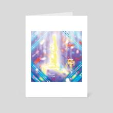 Dat Shit Glows Mane - Art Card by Ariel Torres