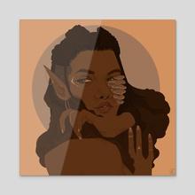 Morelle - Acrylic by Rex