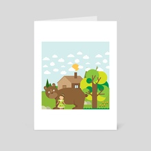 a question - Art Card by Michal Eyal