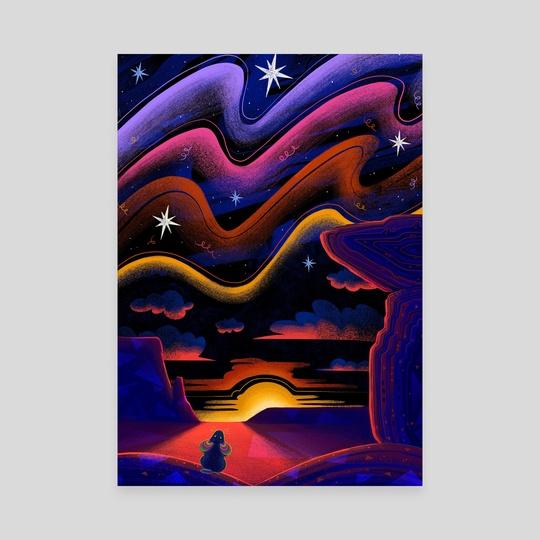 Arizona Sunrise by Dominique Ramsey