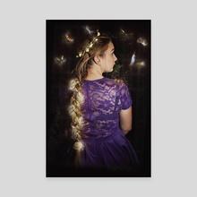 Rapunzel iii - Canvas by RhiI Photography