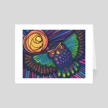 Owl rising  - Art Card by ThEclecticFunk