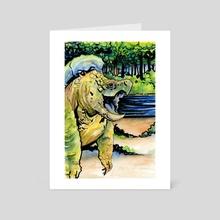 A Dragon - Art Card by Kelly Rasmussen
