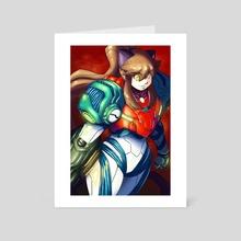 Cosplay Kit: Samus Aran  - Art Card by Evan  Moe