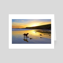 Howe Strand - Art Card by Michael Walsh