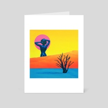 Seductress of The Sun - Art Card by Afroscope