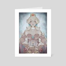 Armored Peach - Art Card by Kuma NZ