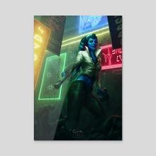 Mission Vao - Acrylic by Corbin Hunter