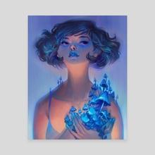Indigo - Canvas by Lois van Baarle